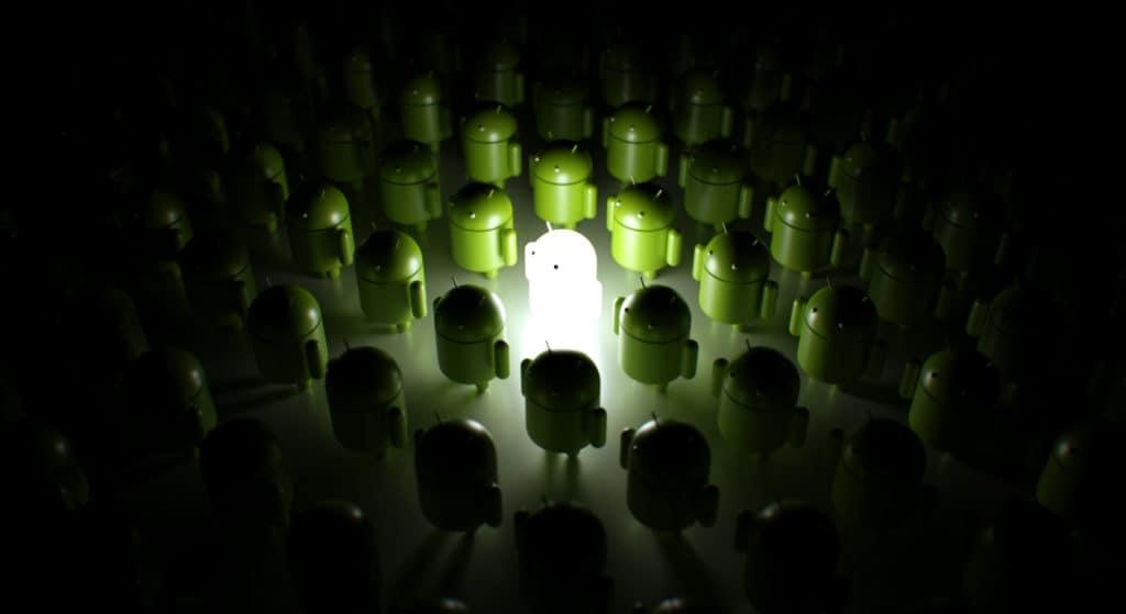 logo android tecnología
