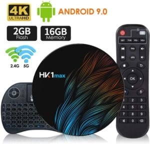 android tv box 9.0 2gb 16gb