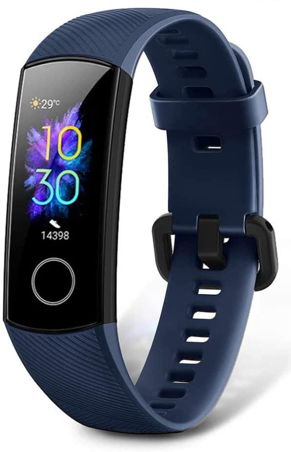 pulseras inteligentes deportivas honor band 5 azul